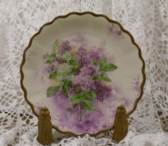 Old hand painted Porcelain plate