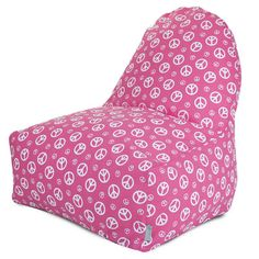 Majestic Home Products Peace Bean Bag Chair - http://delanico.com/bean-bag-chairs/majestic-home-products-peace-bean-bag-chair-547203676/