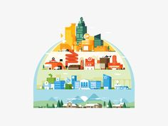 Map designed by JONES&CO. Connect with them on Dribbble; the global community for designers and creative professionals. Charity Run, Map Design, Willis Tower, Character Design, Behance, Kids Rugs, Shapes, Drawings, Frame