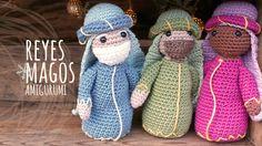 Tutorial Belén Amigurumi Part 4: Reyes Magos (Nativity English subtitles)