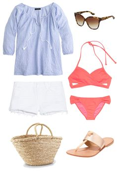 Beachy outfit. #beachplease