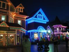 Dollywood, Pigeon Forge, TN, during the Christmas season