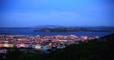 View from the hill. La Maddalena. I can see nonna´s house from here.