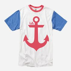 Anchor (Adult) Color-Block Crew