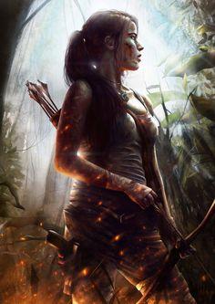Lara Croft by JoshSummana