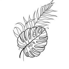Tropisches Tattoo, Piercing Tattoo, Piercings, Mini Tattoos, New Tattoos, Small Tattoos, Tatouage Plumeria, Plant Tattoo, Art Graphique