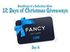 12 Days of Christmas Giveaways - Day 8
