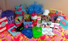 @Lilly Pulitzer themed Sigma Kappa Big/Lil gifts! #TSM