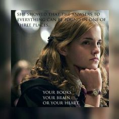 Your books, your brain, your heart