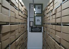 GNM Archive ‏@GuardianArchive  2 minhace 2 minutos Just been down to the archive store rooms #explorearchives #dayinthelife