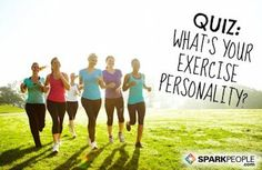 Quiz: What's Your Exercise Personality? Finding out may be the key to sticking with a fitness routine once and for all! | via @SparkPeople #workout #motivation