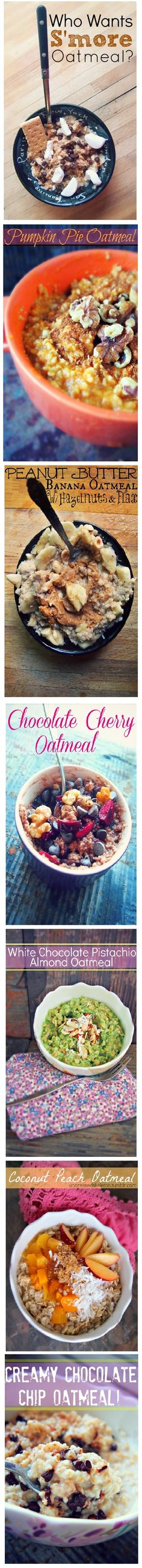 Healthy and Yummy Oatmeal Recipes!