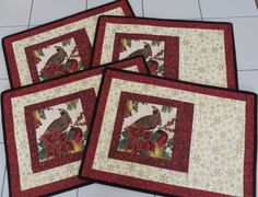 Hey, I found this really awesome Etsy listing at https://www.etsy.com/listing/250422886/quilted-winter-holiday-placemats