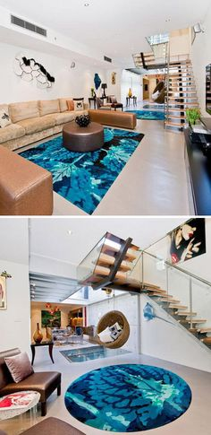 26826d11ec556 Space-Saving Spa  Small Indoor Outdoor Living Room Pool - i actually like  the stair case in this one for a container home