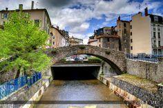 Annonay - The bridge Valgelas - Ardèche dept. - Rhône-Alpes région, France     ..www.flickr.com