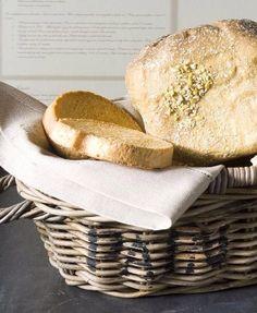 Riviera Maison Basket - finest breakfast at Snuggles-Cottage