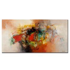 Latitude Run 'Abstract' Graphic Art on Canvas