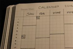 I'd just like to take this opportunity to thank Ryder for sharing my Calendex system and thanks to everyone who has read, shared, reviewed and implemented it in their own bullet journal. My analog ...
