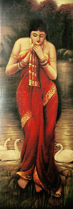 beautiful-lady-by-raja-ravi-verma-QF54_l.jpg (264×750)