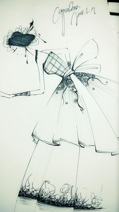 cappucina的服装设计手稿