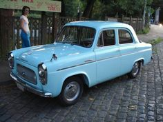 Ford Anglia.