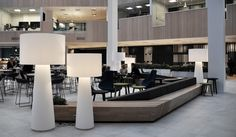 Officeproject Aker Solutions - Norway. Design by AS Scenario interiørarkitekter MNIL - Aker Solutions - Stavanger. Photo by: Heidi Nøringset — in Stavanger, Rogaland.