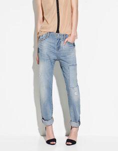 BAGGY JEANS - Trousers  - TRF - ZARA