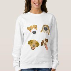 Animal Lover Dog Paw Women's Basic Sweatshirt