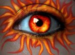 Orange Eye Sunburst Make up Gorgeous Eyes, Pretty Eyes, Cool Eyes, Sad Eyes, Witch Eyes, Fire Eyes, Turquoise Eyes, Crazy Eyes, Look Into My Eyes