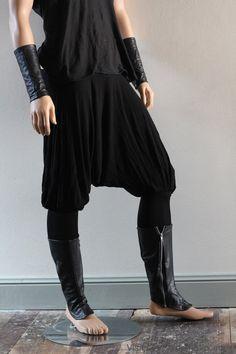 Pants Wool Harem Cossack Yoga Drop Crotch Hammer Samurai Wool Unisex - Chrisst 4 Life on Etsy, $143.24 AUD