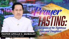 WATCH LIVE: GIVE US THIS DAY by Pastor Apollo C. Quiboloy at SMNI Studio... Spiritual Enlightenment, Spirituality, New Jerusalem, Davao, Kingdom Of Heaven, Son Of God, The Real World, Apollo, Jesus Christ