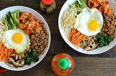 30 Minutes Korean Bibimbap | Food Recipes