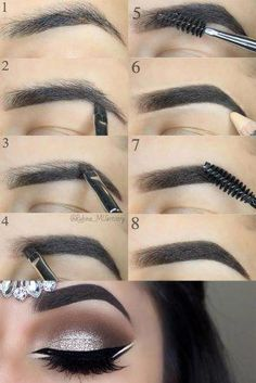 Make Up; Look; Make Up Looks; Make Up Augen; Make Up Prom;Make Up Face; Makeup Tricks, Eyebrow Makeup Tips, Diy Makeup, Makeup Tools, Makeup Inspo, Makeup Inspiration, Makeup Brushes, Makeup Artists, Makeup Eyebrows