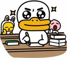 Apeach Kakao, Emoji Design, Kakao Friends, Friends Wallpaper, Images Wallpaper, Line Friends, Korean Language, Kawaii Drawings, Illustrations And Posters