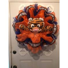 Auburn Collegiate Decor ($85) ❤ liked on Polyvore featuring home and home decor