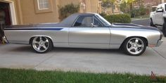70 El Camino | 1970 70 Chevy El Camino SS Pro Touring resto mod beautifully done well ...