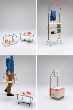 Maisonette 3-Piece Convertible Furniture Set | 12 Cool Pieces of Convertible Furniture