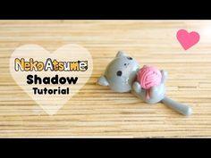 Kawaii Neko Atsume Shadow & Yarn Polymer Clay Tutorial