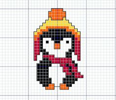 Oh my God! It's a cross stitch penguin in a Jayne hat. I honestly didn't know which board to pin this to