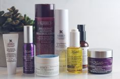 My fall skincare routine is easy. Everything is Kiehl's and my skin has never looked better!