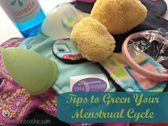 Tips to Green Your Menstrual Cycle @TheEcoChic. Idk if I want all 3 of my daughters in on this.