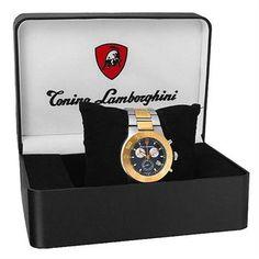 TONINO LAMBORGHINI Stainless Steel Swiss Watch