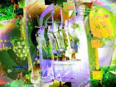 'Industriekultur - Maschine - Industry Culture surreal I' von Marion Waschk bei artflakes.com als Poster oder Kunstdruck $16.63