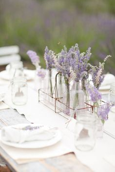 Spring is not so far, and I even feel its fresh spirit. Lavender or lilac are very gentle and cool colors for a spring or summer wedding, they are so beautiful and tender! Just imagine a pastel lavender wedding dress. Lilac Wedding, Summer Wedding, Our Wedding, Wedding Flowers, Lavender Weddings, Daytime Wedding, Wedding Night, Lavender Wedding Colors, Field Wedding