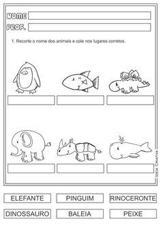 Atividades Escrita Números e Letras Língua Portuguesa para Ensino Fundamental