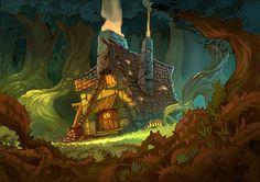 la maison de l'ogre by Frakkasse.deviantart.com on @deviantART