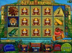 Опис ігрового автомата Імперія Ацтеків (Aztec Empire). Тема цього ігрового автомата присвячена могутнійімперії ацтеків. В онлайн слоті Aztec Empire гравців чекає безліч цікавих знахідок у вигляді чудовогобонусу і диких символів, які можуть розширюватися. Грати на справ