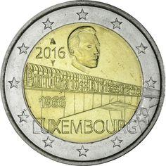 2 EURO CUNI GROSSHERZOGIN-CHARLOTTE-BRÜCKE U