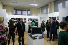 Opening night of the Visual Communication Course at Batley School of Art 2016