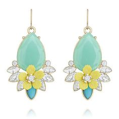 Chloe and Isabel - TERRACE BLOOMS MINT DROP EARRINGS LIMITED EDITION in Jewelry & Watches | eBay